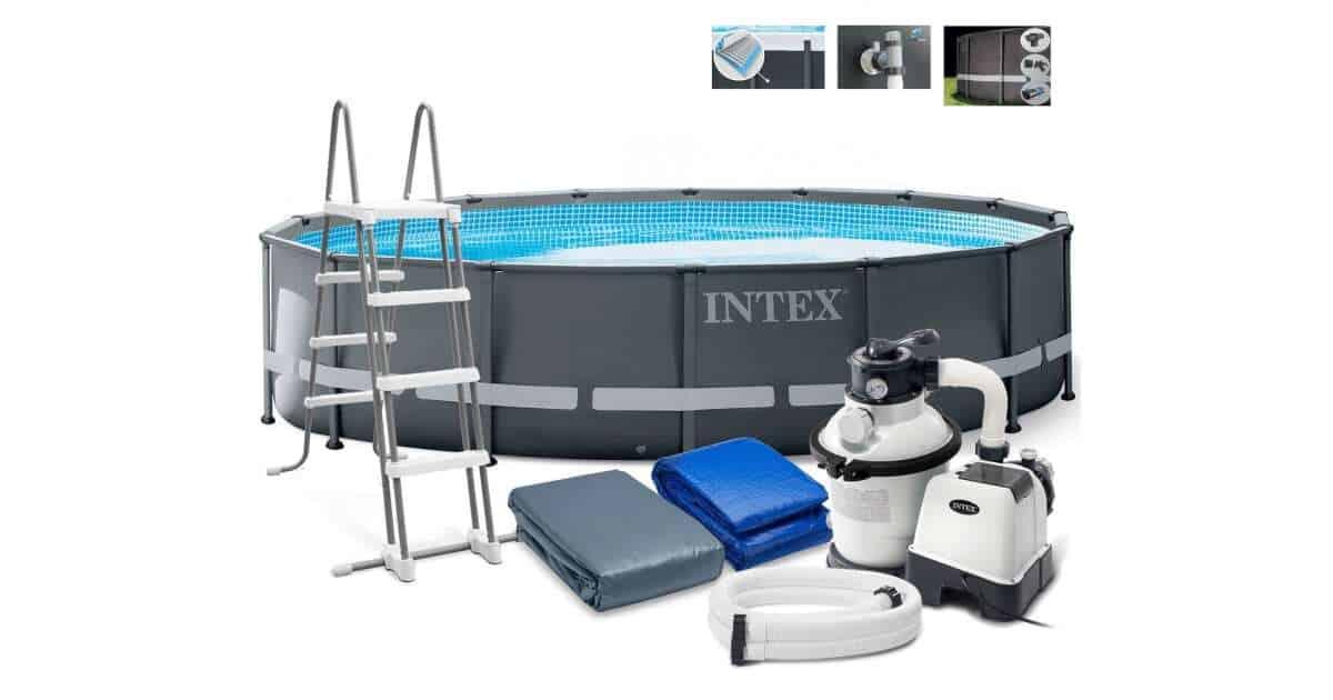 Intex Ultra XTR Frame fémvázas Medence kiegészítőkkel 488x122cm