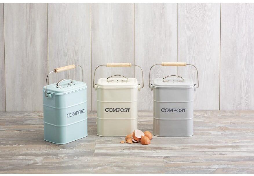 konyhai komposztáló edény több színben